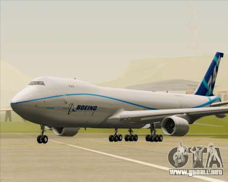Boeing 747-8 Cargo House Livery para GTA San Andreas left