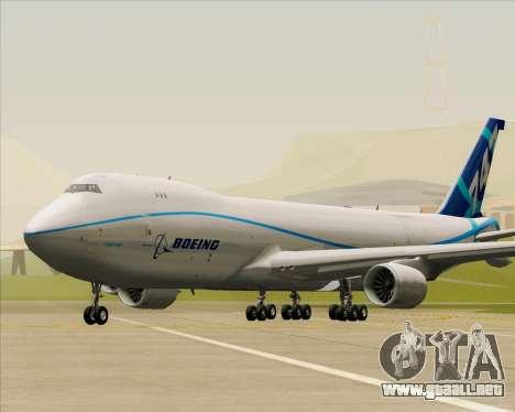 Boeing 747-8 Cargo House Livery para GTA San Andreas left