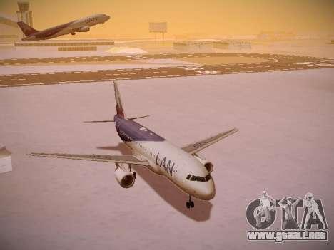 Airbus A320-214 LAN Airlines para GTA San Andreas interior