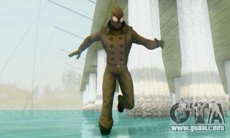 Skin The Amazing Spider Man 2 - DLC Noir para GTA San Andreas segunda pantalla