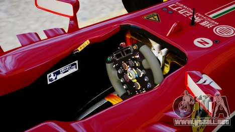 Ferrari F138 v2 para GTA 4 vista interior