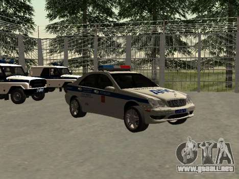 Mercedes Dps para la visión correcta GTA San Andreas