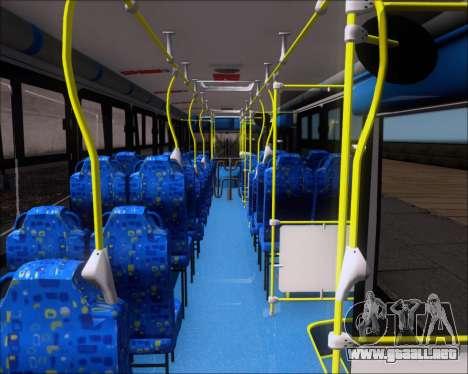 Caio Induscar Apache S21 Volksbus 17-210 Manaus para visión interna GTA San Andreas
