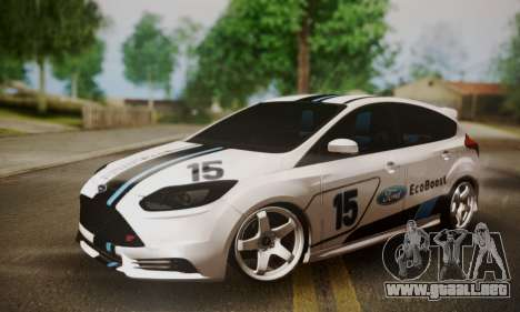 Ford Focus ST Eco Boost para GTA San Andreas