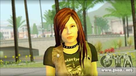 Bike Girl para GTA San Andreas tercera pantalla