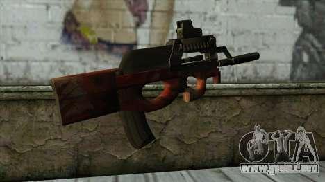 P90 from PointBlank v3 para GTA San Andreas segunda pantalla