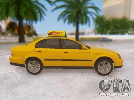 Chevrolet Evanda Taxi para visión interna GTA San Andreas