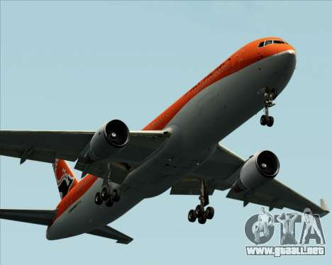 Boeing 767-300ER Australian Airlines para vista inferior GTA San Andreas