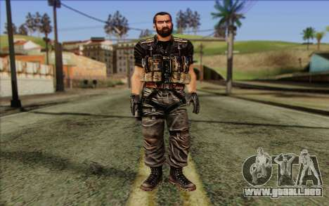 Los soldados de la Rogue Warrior 1 para GTA San Andreas