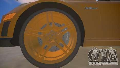 Mercedes-Benz E63 AMG для GTA 4 para GTA 4 vista desde abajo