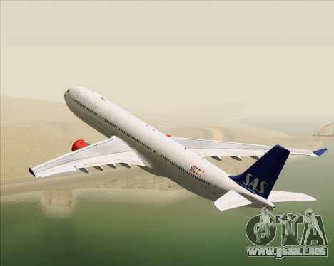 Airbus A330-300 Scandinavian Airlines System. para GTA San Andreas