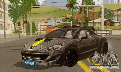 Peugeot RCZ GTS 2010 Tuned v2.0 para GTA San Andreas