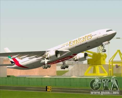 Airbus A330-300 Emirates para GTA San Andreas