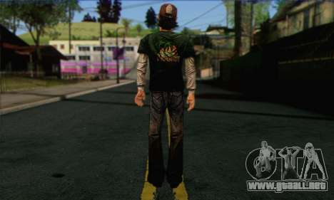 Kenny from The Walking Dead v1 para GTA San Andreas segunda pantalla