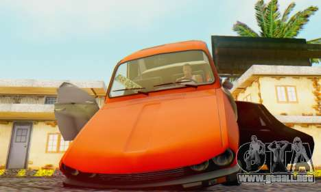 Dacia 1300 Tuned para la visión correcta GTA San Andreas