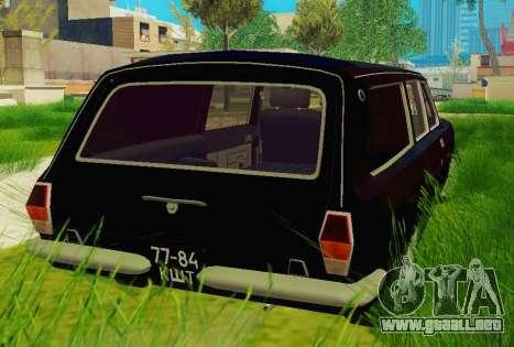GAS-24-12 coche fúnebre para GTA San Andreas vista posterior izquierda