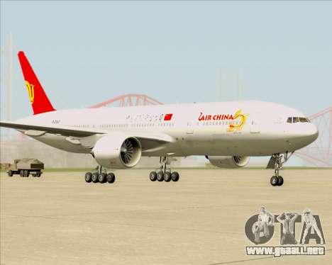 Boeing 777-200ER Air China para GTA San Andreas left