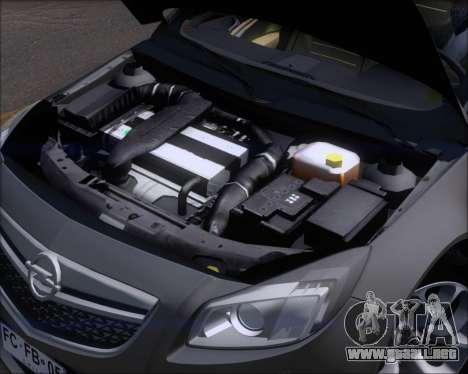 Opel Insignia OPC para la vista superior GTA San Andreas