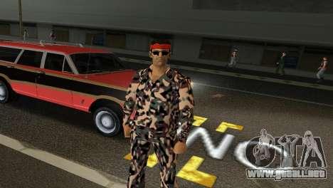 Camo Skin 08 para GTA Vice City tercera pantalla