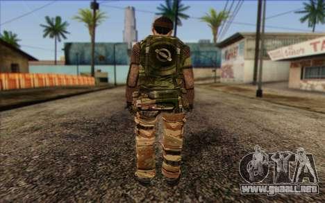 Soldados de MEK (Battlefield 2) de la Piel 2 para GTA San Andreas segunda pantalla