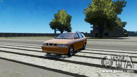 Daewoo Nubira I Wagon CDX US 1999 para GTA 4 left