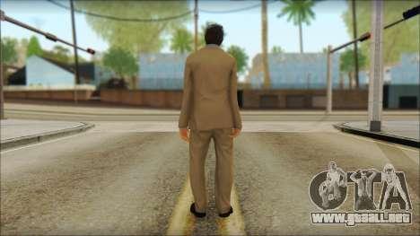 GTA 5 Ped 5 para GTA San Andreas segunda pantalla