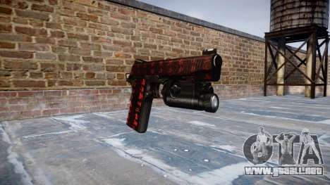 Pistola de Kimber 1911 Arte de la Guerra para GTA 4