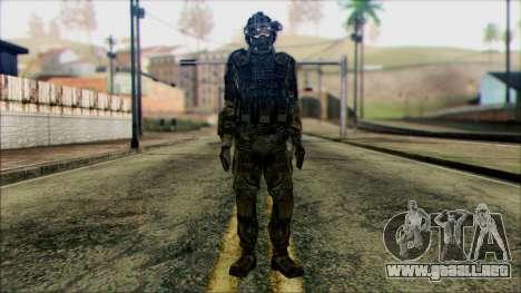 Soldados de equipo Fantasma 1 para GTA San Andreas