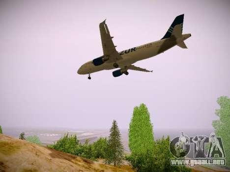 Airbus A320-211 Aigle Azur para visión interna GTA San Andreas