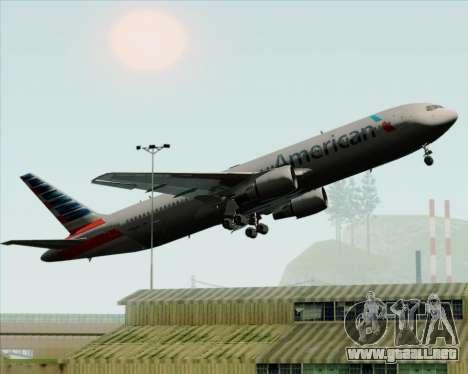 Boeing 767-323ER American Airlines para las ruedas de GTA San Andreas