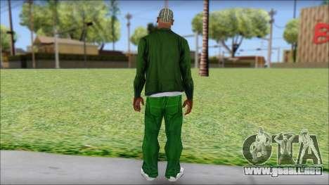 New CJ v2 para GTA San Andreas segunda pantalla