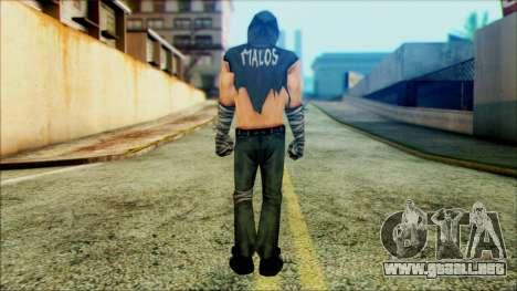 Manhunt Ped 4 para GTA San Andreas segunda pantalla