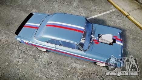 Chevrolet II Nova SS 1966 Custom [EPM] PJ2 para GTA 4 visión correcta