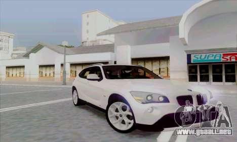 Bmw X1 para GTA San Andreas