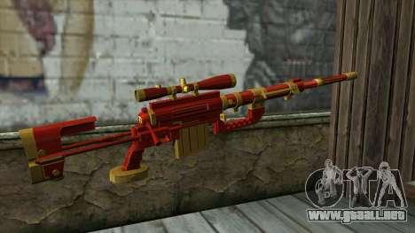 Sniper Rifle from PointBlank v1 para GTA San Andreas segunda pantalla