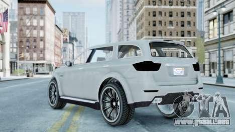 GTA 5 Bravado Gresley para GTA 4 left