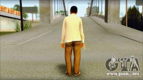 GTA 5 Ped 23 para GTA San Andreas segunda pantalla