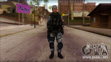 MG from PLA v1 para GTA San Andreas