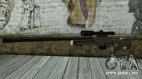 Sniper Rifle from PointBlank v2 para GTA San Andreas