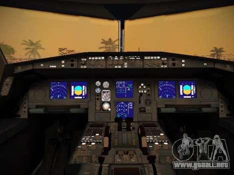 Airbus A340-600 South African Airways para las ruedas de GTA San Andreas