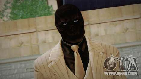 Black Mask para GTA San Andreas tercera pantalla