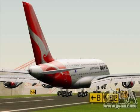 Airbus A380-841 Qantas para el motor de GTA San Andreas