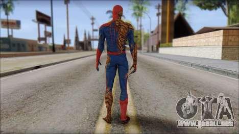 Spider Man para GTA San Andreas segunda pantalla