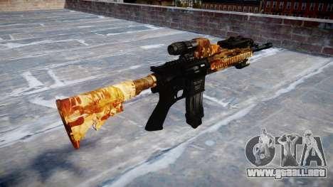 Automatic rifle Colt M4A1 de élite para GTA 4 segundos de pantalla