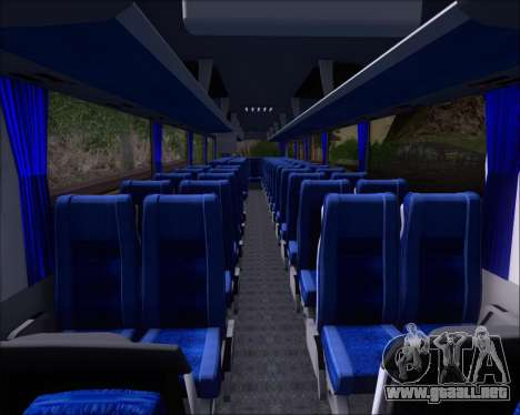 MAN Lion Coach Rural Tours 2790 para vista inferior GTA San Andreas
