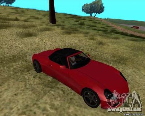 Stinger para GTA San Andreas vista hacia atrás