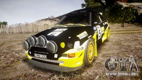 Ford Escort RS Cosworth 2.0 Vespas Team para GTA 4