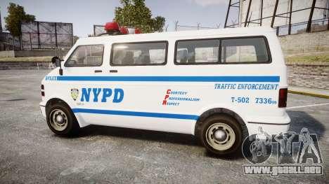 GTA V Bravado Youga NYPD para GTA 4 left