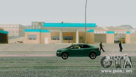 Nuevas texturas de garaje en San Fierro para GTA San Andreas tercera pantalla