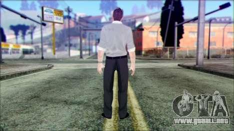 Shaun from Assassins Creed para GTA San Andreas segunda pantalla